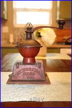 Griswold Cast Iron Table Top Coffee Grinder