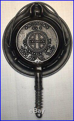 Griswold Cast Iron Toy # 0 Waffle Iron
