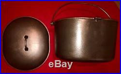 Griswold Cast iron # 1300 & 1301 Oval Roaster with Cover