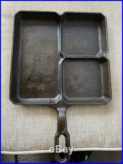 Griswold Colonial Breakfast Skillet Large Block Logo 666 Cast Iron