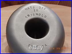 Griswold Cowboy Hat Ashtray Free Shipping