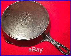 Griswold ERIE Spider Cast Iron # 8 Skillet EB