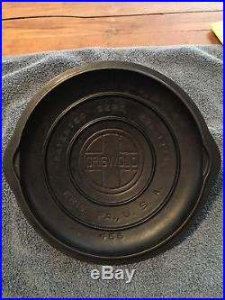 Griswold Erie, Pa. Cast Iron Vintage #6 Self Basting Skillet Cover Pan Lid #466