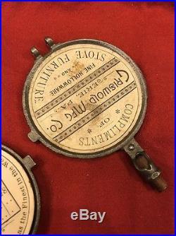 Griswold Facsimile Waffle Iron Salesman Sample 1888