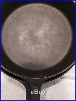 Griswold Large Block Logo 3-10 Smooth Bottom Skillet Set- LQQk