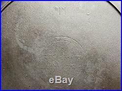 Griswold No. 11 Slant Logo Erie Cast Iron Skillet Restored