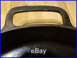 Griswold No 20 Cast Iron Skillet Iron Frying Pan Heat Ring LARGE BLOCK