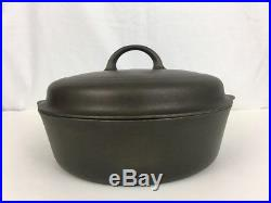 Griswold No 8 Cast Iron Skillet 777B Small Logo Chicken Fryer 1098C Dome Lid