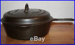 Griswold No. 8 Extra Deep Skillet Chicken Pan 777 Basting Cover 1048 Trivet 206