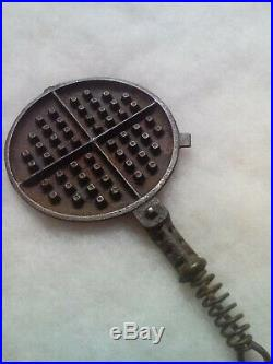 Griswold Salesman's Sample 0 Waffle Iron