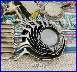 Griswold Small Logo 3-10,12 Skillets