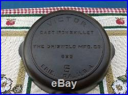 Griswold Victor No. 5 Skillet, Fully Marked, Restored, Clean & Gorgeous