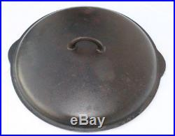 Griswold Vintage #14 Cast Iron Skillet AND Lid, Large Logo, # 474A and 718B