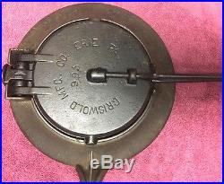 Griswold Wafer Iron 1890-1910
