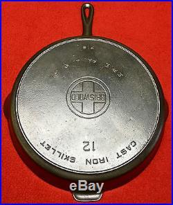 Griswold cast iron # 12 Skillet