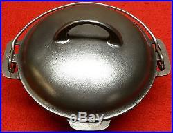 Griswold cast iron # 6 Dutch Oven & Trivet
