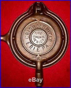 Griswold cast iron # 6 Waffle Iron