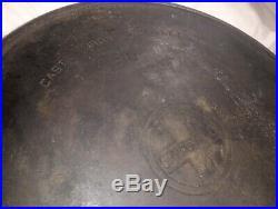Griswold cast iron skillet 20