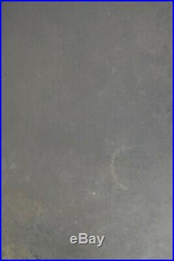 Griswold pan skillet #14 large logo 15 1/4 inch 718A heat ring seasoned