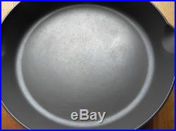 Griswold's ERIE #12 Cast Iron Skillet Heat Ring Cleaned & Seasoned Cir 1905-1907