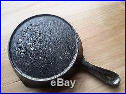 HTF Wagner Ware TOY SKILLET COVER with matching Skillet. Excellent Condition