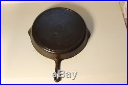 HUGE #14 GRISWOLD #718 CAST IRON SKILLET PAN NO CRACKED HANDLE