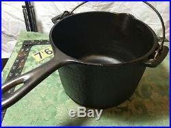 Hammered Cast Iron Deep Fat Fryer. Wagner, Griswold, Chicago