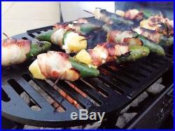 Hibachi Grill Portable Lodge Logic Pre-Seasoned Sportsmans Charcoal BBQ Outdoor