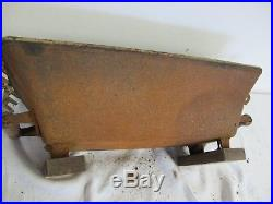 Hibachi Vintage Cast Iron Grill Large 20 X 10