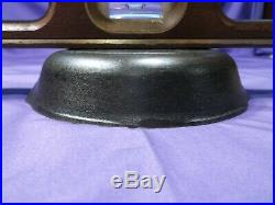 Htf #2 Griswold Cast Iron Skillet Heat Ring Slant Logo Erie Pa USA Sits Flat