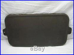 Huge No 11 Griswold Cast Iron Commercial Griddle 911 Small Logo ERIE PA USA