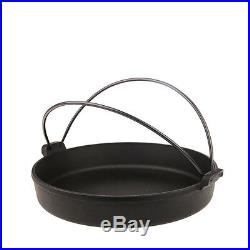 IWACHU Cast Iron Cookware Dutch Oven Camp Tent Pot Grill Pit japan Frying Pan