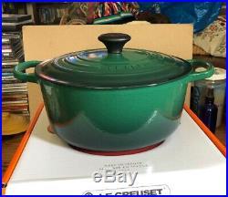 Juniper 5.5 Quart #26 LE CREUSET Cast Iron Signature Dutch Oven Cactus Green