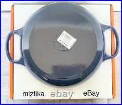 LE CREUSET #26 Lapis Blue Color 2 1/4 QT Signature Braiser Dutch Oven NWT