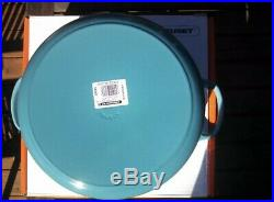 LE CREUSET 7.25QT Round Dutch Oven Caribbean Blue NEW In Box 1st Quality