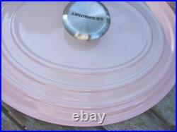 LE CREUSET SHELL PINK SIGNATURE OVAL CASSEROLE 3 1/2 QUART NEWithBOX