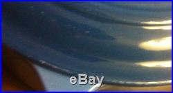 LE CREUSET Signature CAST IRON OVAL # 29 5 QT. Marseille Blue NEW Dutch Oven