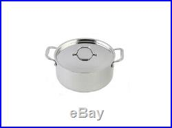 Le Chef 13-Piece Cookware Set Enameled Cast Iron, France Blue. On Sale