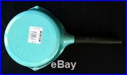 Le Creuset 1.5 qt. Raymond Loewy Saucepan Turquoise