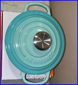 Le Creuset 1 Qt Round Dutch Oven Cool Mint Cast Iron