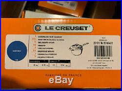 Le Creuset 16 Piece Cookware Set Enameled Cast Iron, Marseille, SHIP FROM STORE