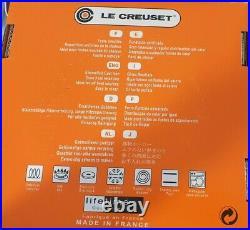 Le Creuset 24cm Round Casserole Granite 4.2L (BNIB)