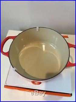 Le Creuset 3.5 Qt Signature Dutch Oven-Retails $360-Coral