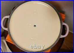 Le Creuset 3.5 Qt Soup Pot Cast Iron Blue Bell Purple Province Violet