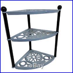 Le Creuset 3 tier pot stand Coastal Blue Cast-Iron Cookware Stand No Box Kitchen