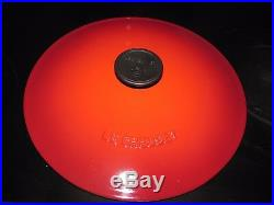 Le Creuset 4-1/4 Qt. Red Soup Pot #26 (4.1 L) Cast Iron