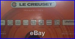 Le Creuset 5 1/2 Quart Round Dutch Oven #26 Marseille Blue Cast Iron 5.5 Qt New