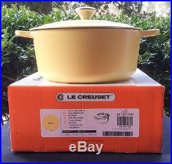 Le Creuset 5.5 qt Round Dutch Oven Matte Mimosa