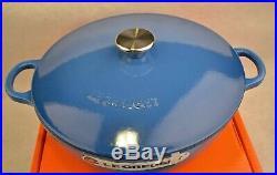Le Creuset 5 Piece Soup Pot Set, Marseille Blue NEW
