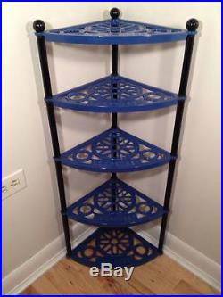 Le Creuset 5 Tier Cast Iron Cookware Display Stand Blue